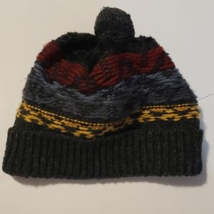 H&M Knit Pom Pom Winter Hat One Size